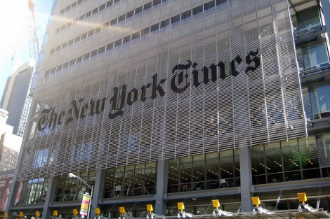The New York Times: Running faster and faster to stay in the same place